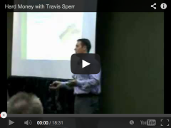 Travis Speaks at our Last ISS About Hard Money